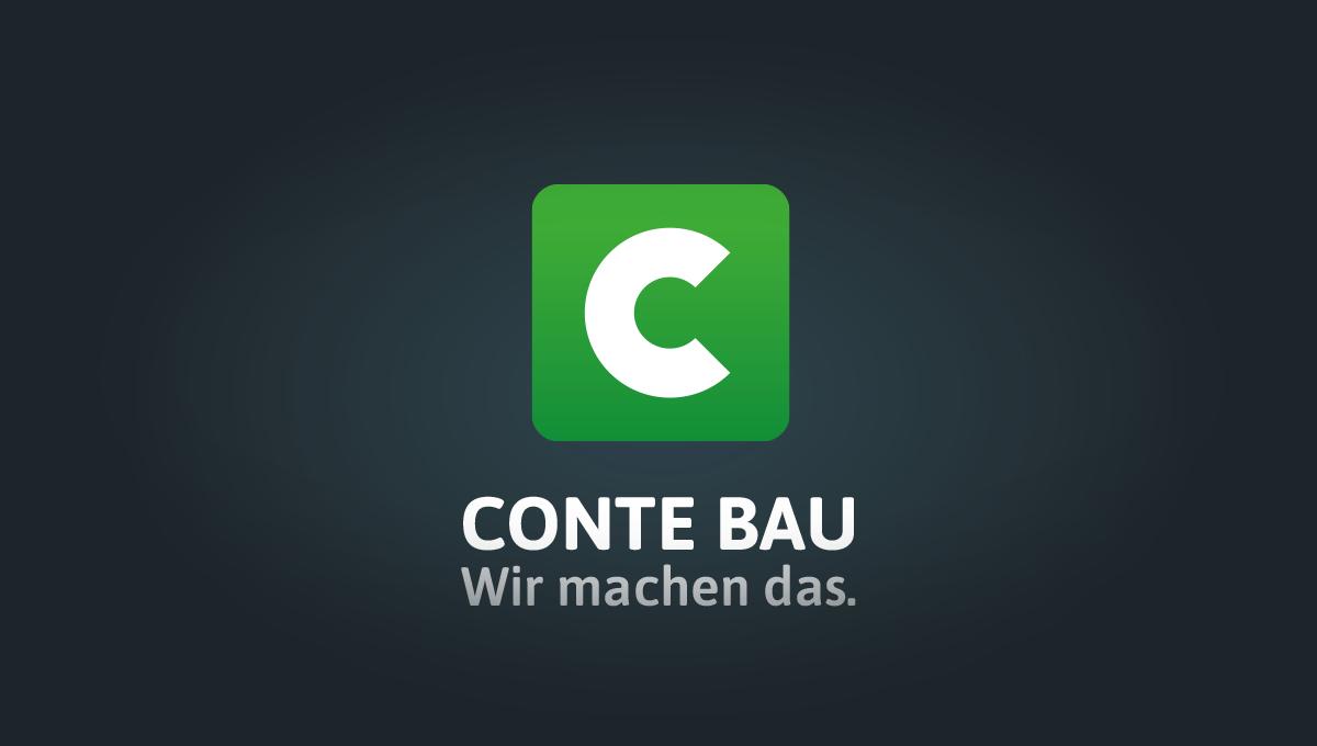 Conte Bau Logo dark