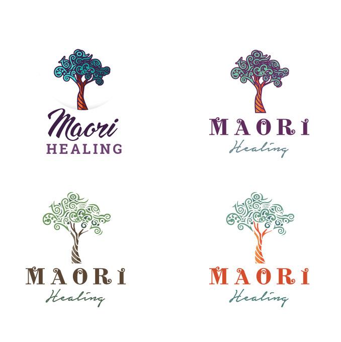 Maori-Healing Logovarianten
