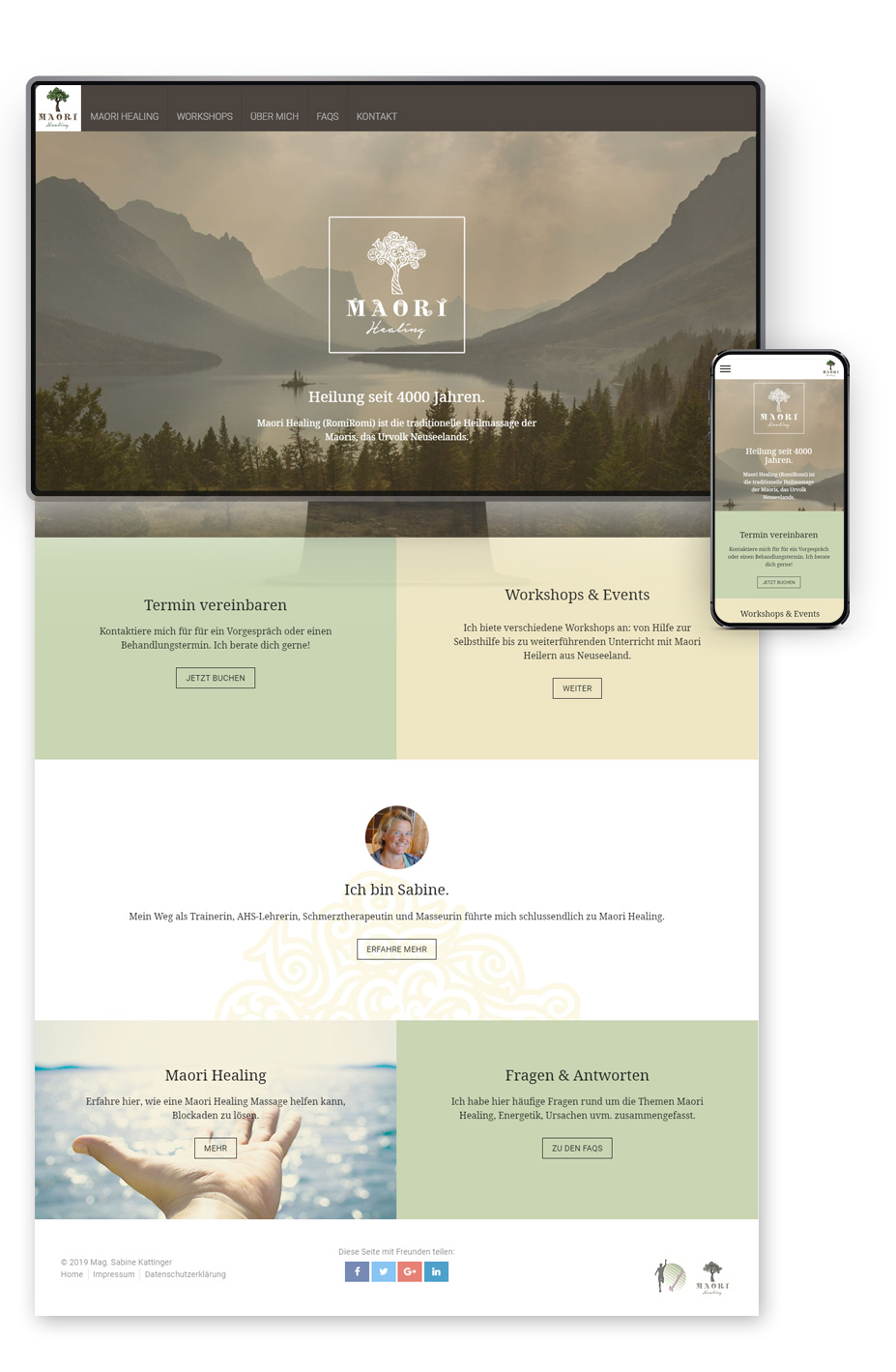 Maori-Healing Website