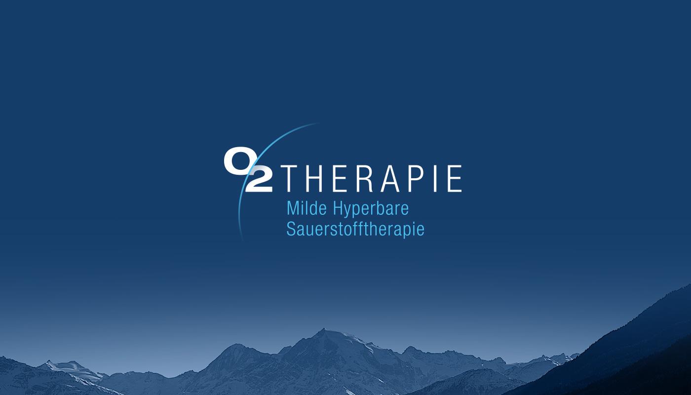 Branding O2Therapie Logo