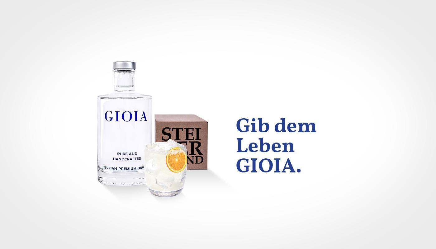 Brand Design Sujet Gioia Gin