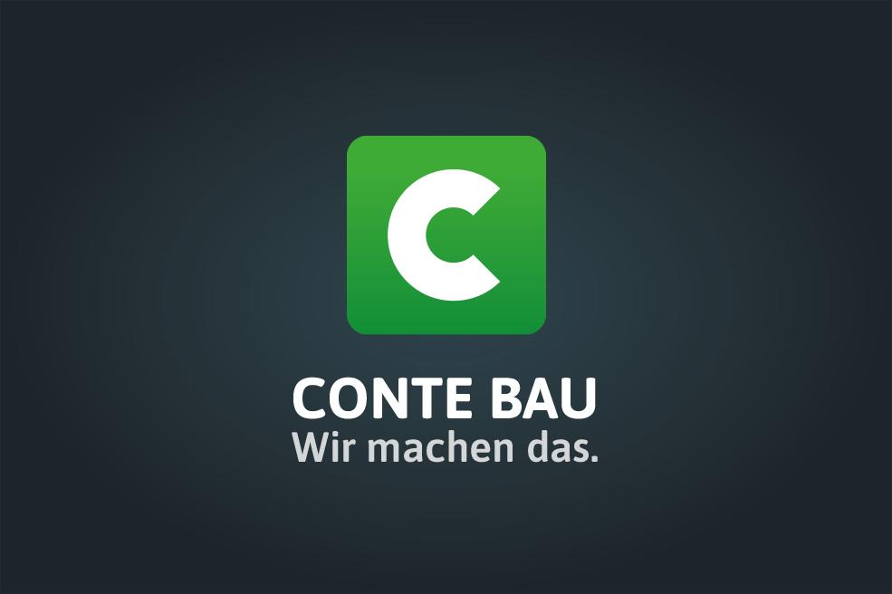 Branding: Logodesign Conte Bau