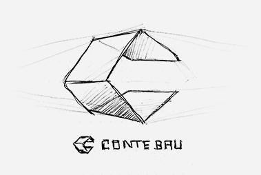 Logo-Konzept Conte Bau