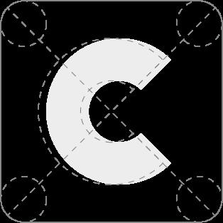 Conte Bau Logo-Konstruktion