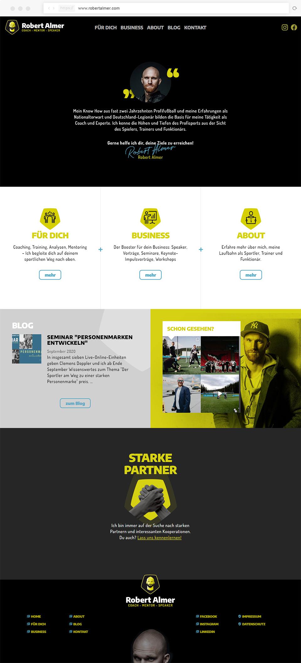 Webdesign Robert Almer